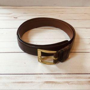 🦆 Dooney & Bourke Vintage Leather Belt Size 36